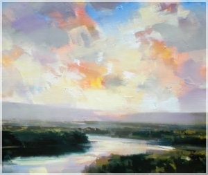 Craig Mooney's landscape oil painting